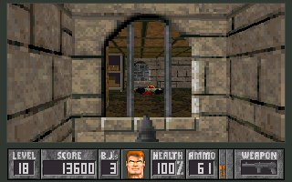 AReyeP and MCS' Wolfenstein 3D Add ons - Spear End of Destiny